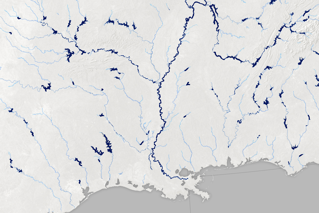 A Satellite View of River Width - related image preview