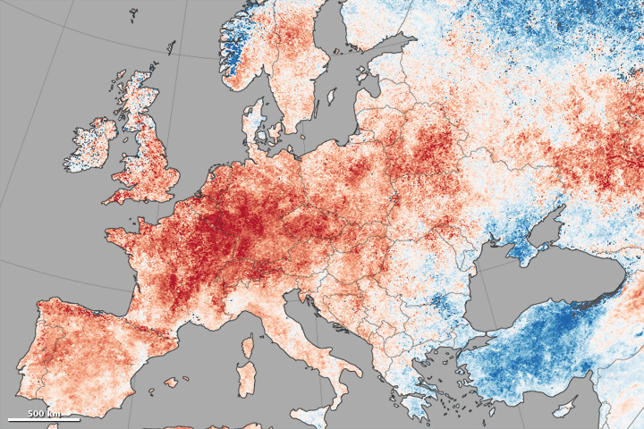 Europe and Pacific Northwest Face Record Heat