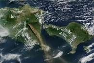 Eruption of Raung Volcano