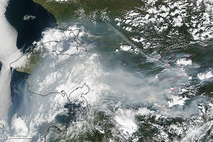 Smoke and Fire in Alaska