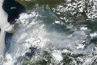 Smoke and Fire in Alaska