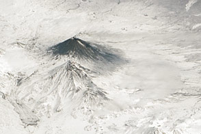 Activity at Klyuchevskoy Volcano