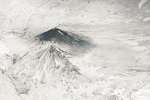 Activity at Klyuchevskoy Volcano