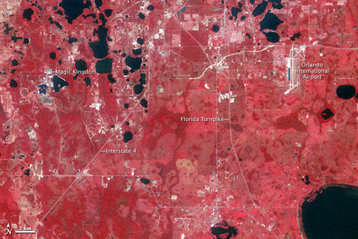 Orlando, Florida: Four Decades of Development