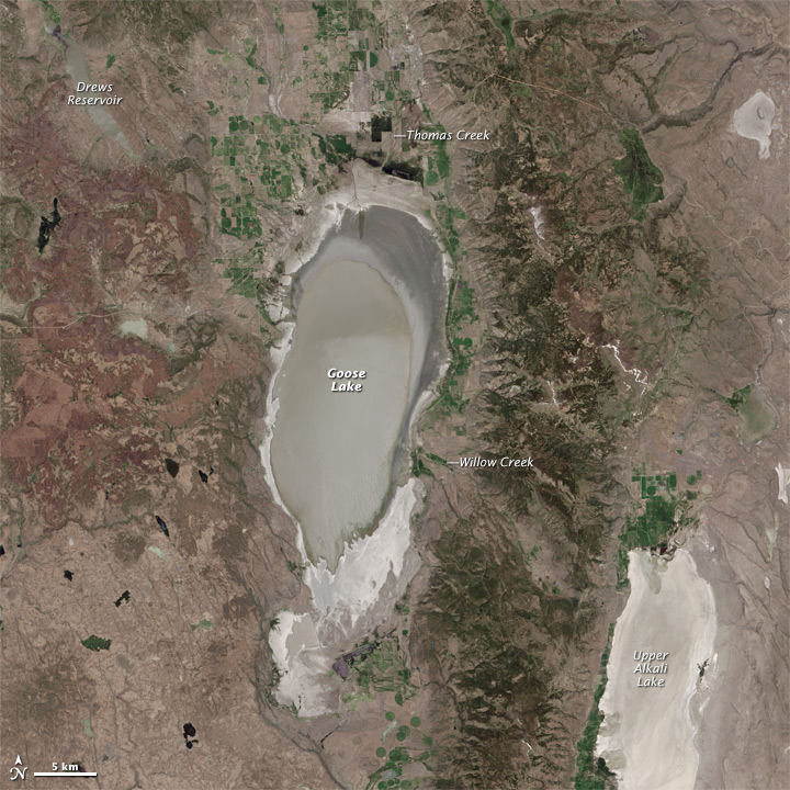 Goose Lake Dries Up