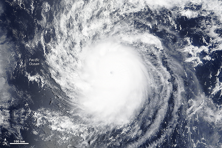 Hurricane Hilda Tracks Toward Hawaii