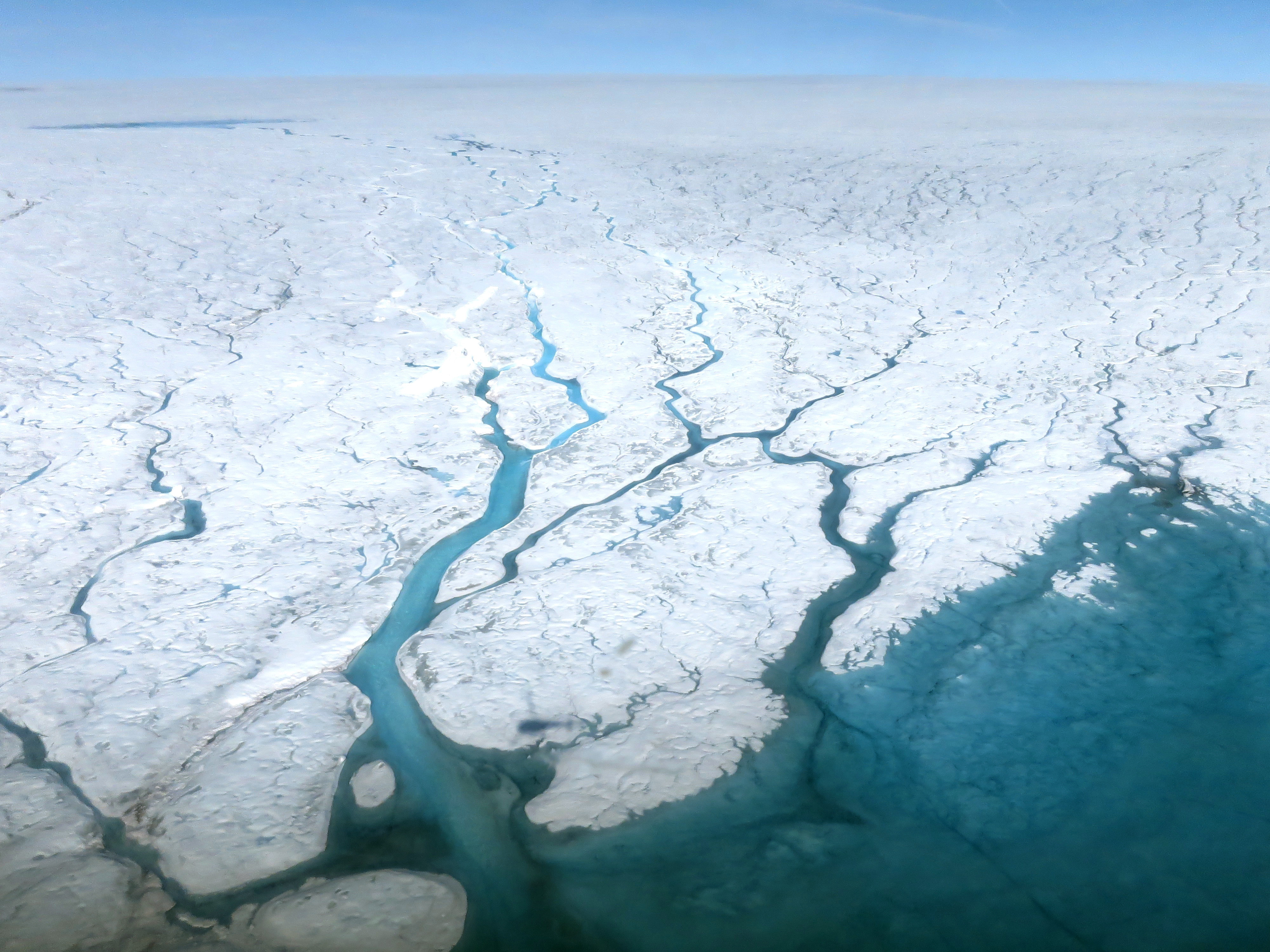 Watching the Rivers Flow on Greenland - related image preview