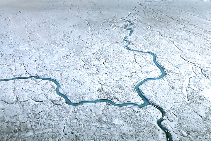 Watching the Rivers Flow on Greenland
