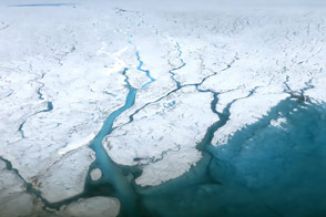 Watching the Rivers Flow on Greenland - selected image
