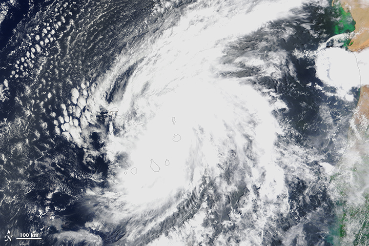 Cabo Verde Hit by First Hurricane in a Century