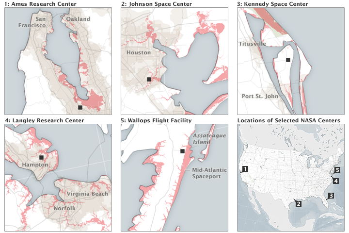 NASA's Front Porch View of Rising Seas - related image preview