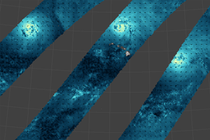 Wind Fields of a Tropical Cyclone Trio
