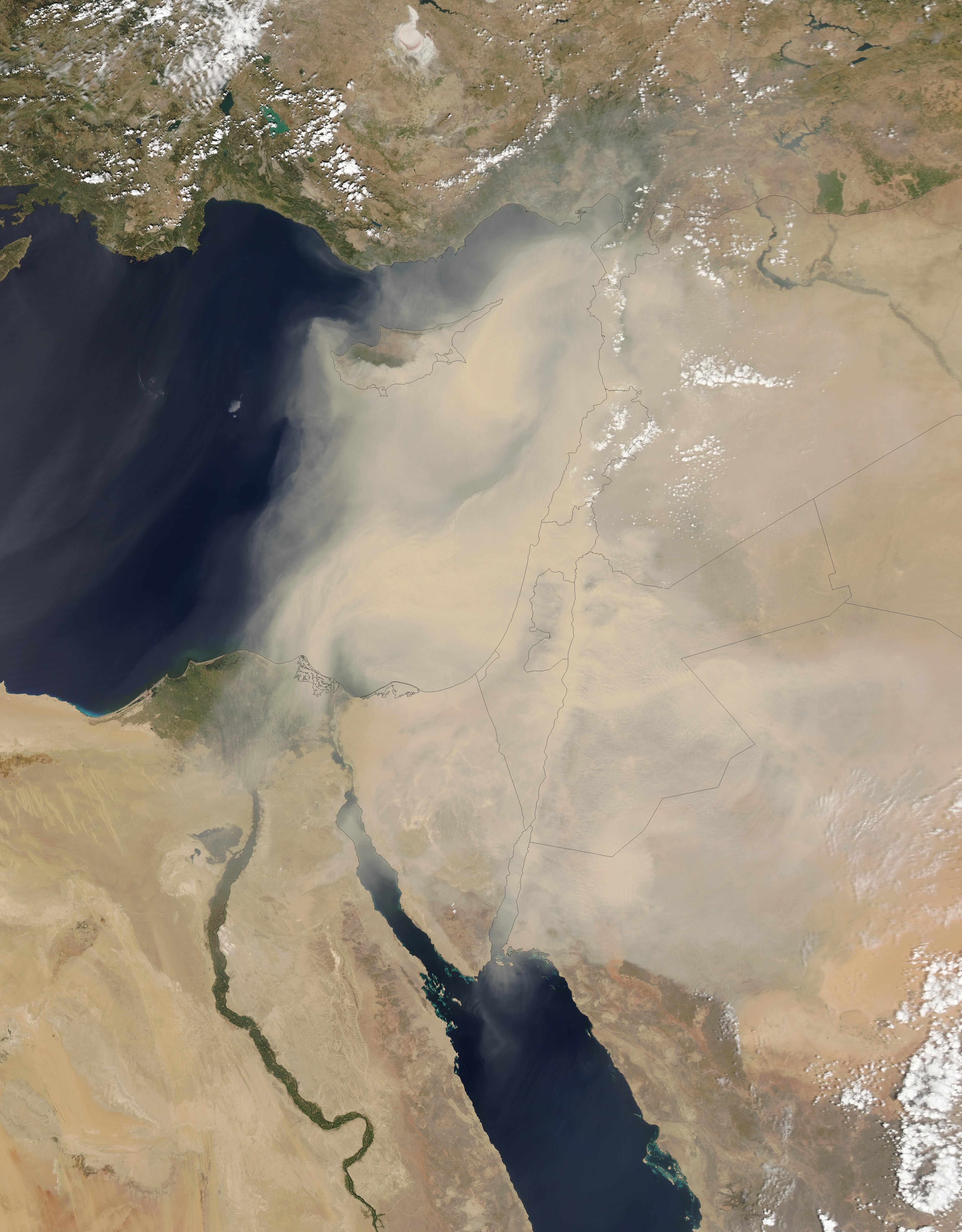 dust storms nasa - photo #8