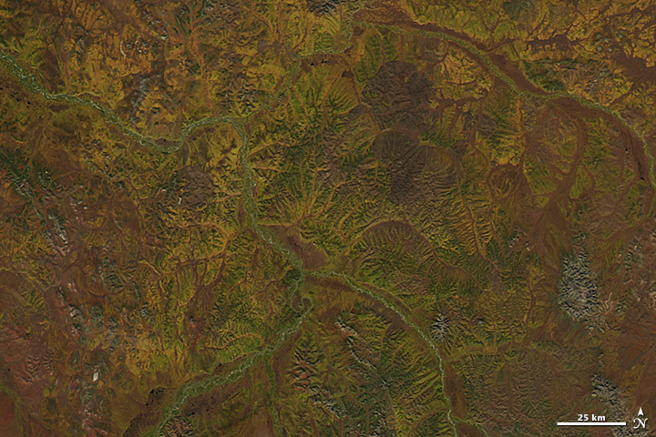 Fall Colors in Eastern Siberia