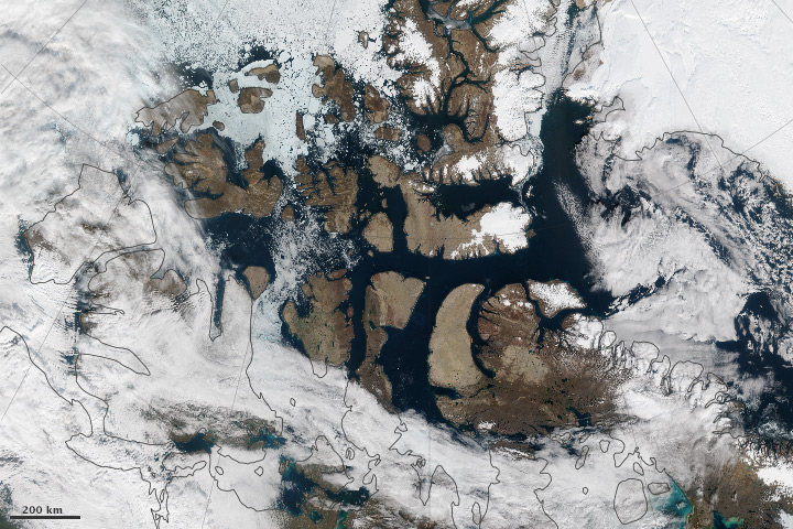 Partial Opening of the Northwest Passage - related image preview