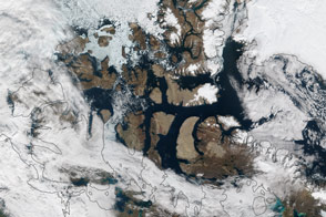 Partial Opening of the Northwest Passage - selected image