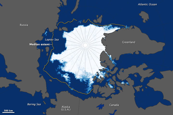 Arctic Sea Ice Reaches Annual Low - related image preview