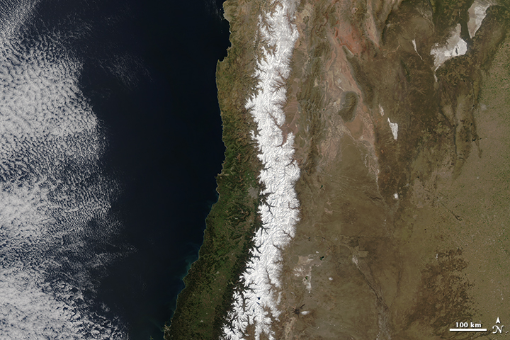 Snow in the Andes - related image preview