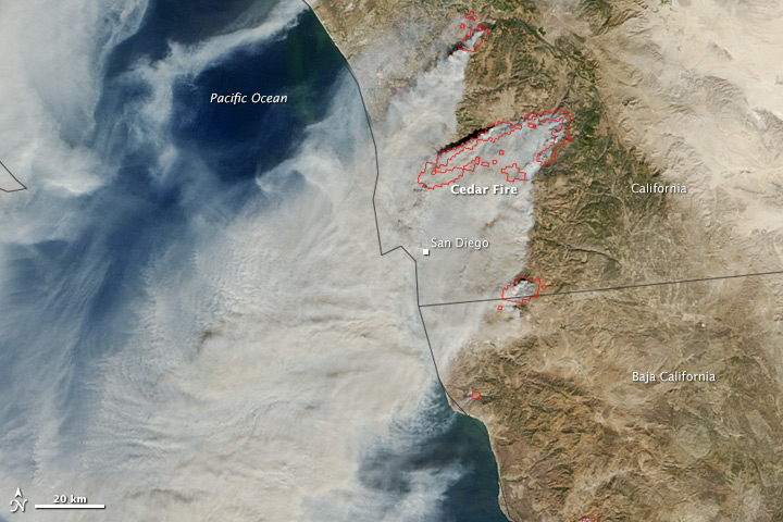 The Split Personality of SoCal Fires