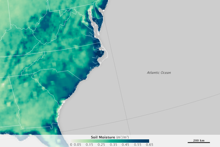 Soggy Soil in the Eastern United States - related image preview