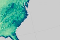 Soggy Soil in the Eastern United States