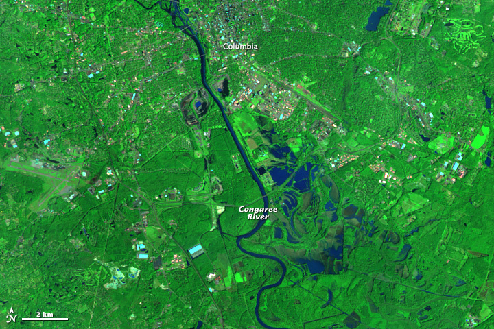 Flooding Near Columbia, South Carolina - related image preview