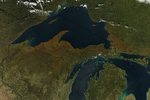 Fall Color Arrives in the U.S. and Canada