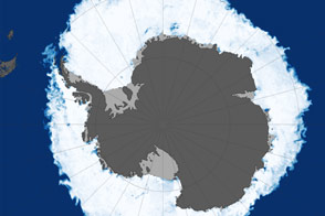 2015 Antarctic Sea Ice Extent - selected image