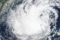 Typhoon Koppu over the Philippines