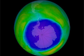 Ozone Hole 2015 - selected image