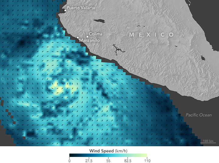 Hurricane Patricia Nears Mexico