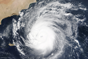 Cyclone Chapala Nears Arabian Peninsula