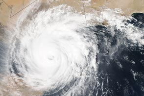 Cyclone Chapala Over the Gulf of Aden