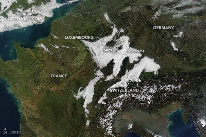 Fog Over Europe