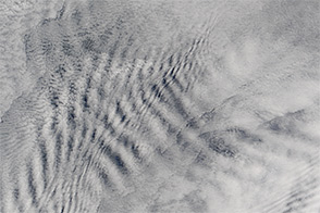 Wave Clouds Behind the Prince Edward Islands
