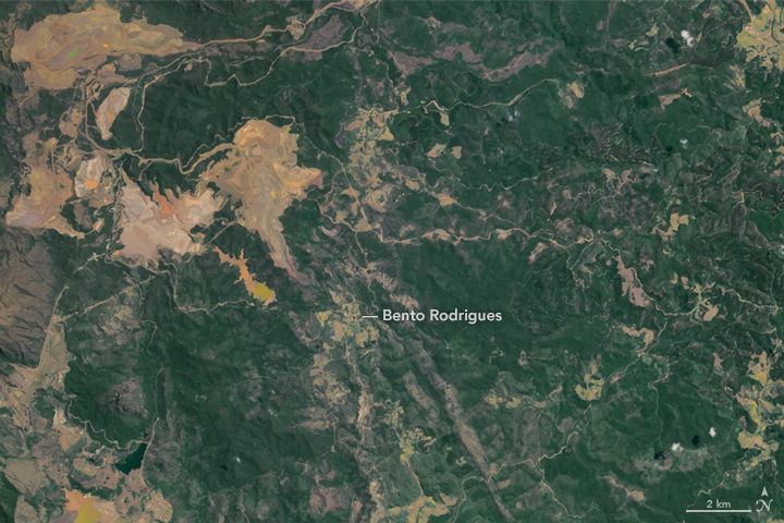 Flooding in Brazil After Dam Breach