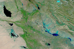 Flooding in Iraq