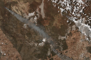 Fires near Esperance, Western Australia