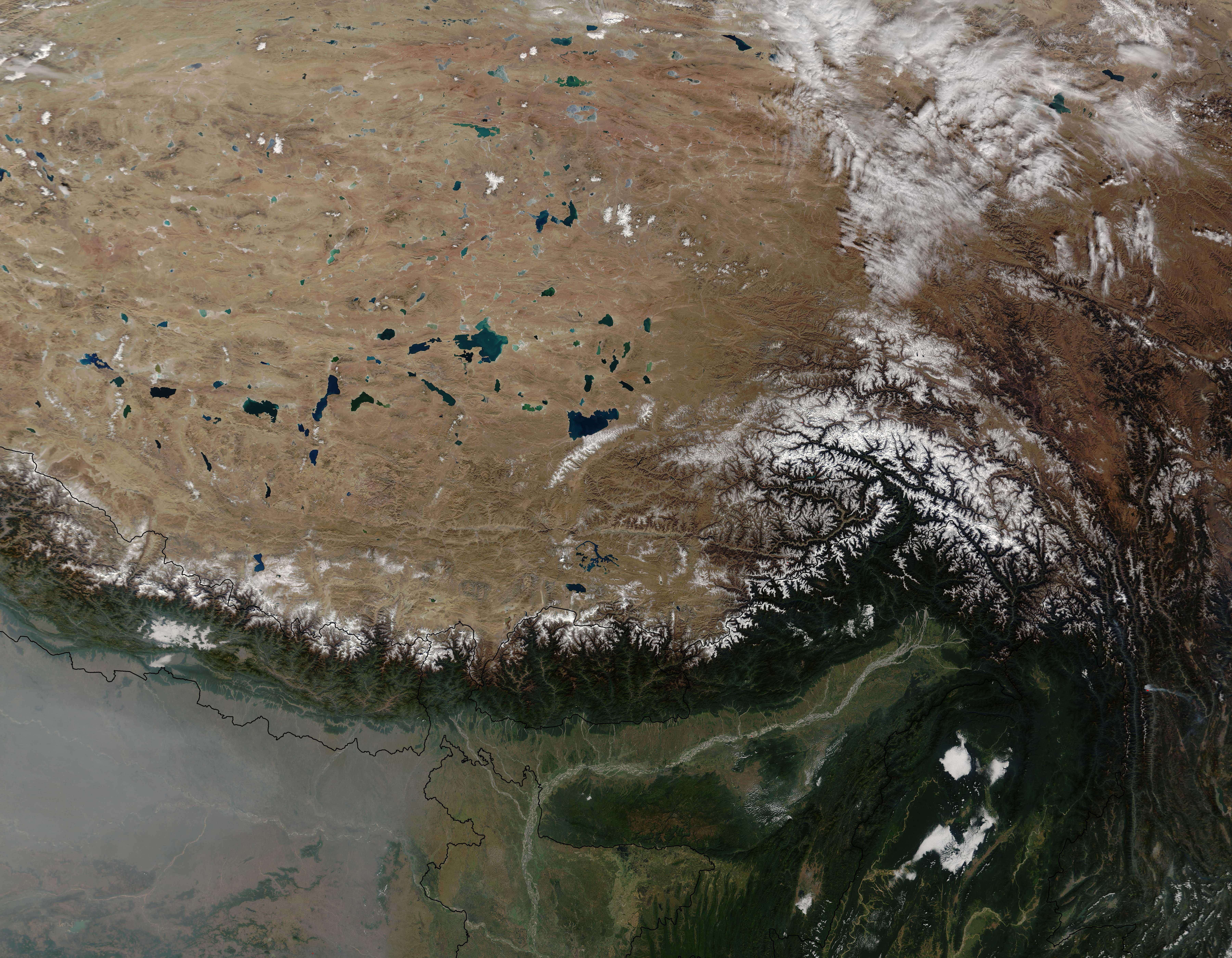 Nasa Himalayas From Space | www.pixshark.com - Images ...
