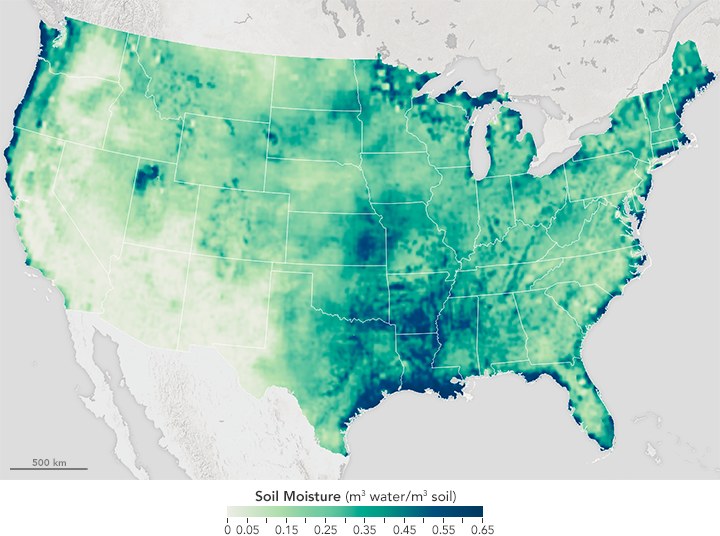 Soil Moisture in the United States - related image preview
