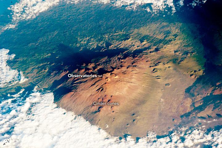 Mauna Kea Volcano, Hawaii
