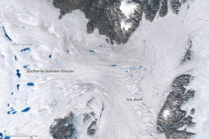 Zachariæ Isstrøm Glacier, Greenland - related image preview