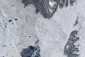 Zachariæ Isstrøm Glacier, Greenland - selected image
