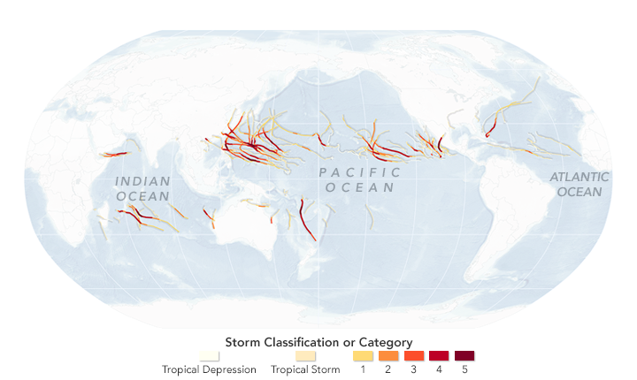 Records Fall in 2015 Cyclone Season