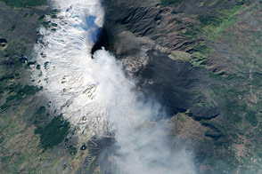 Mount Etna Erupts