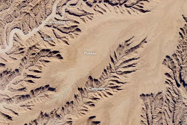 Saudi Arabia Canyonlands