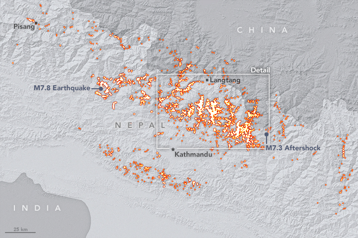 Taking Stock of Landslides after the Gorkha Earthquake