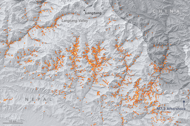 Taking Stock of Landslides after the Gorkha Earthquake