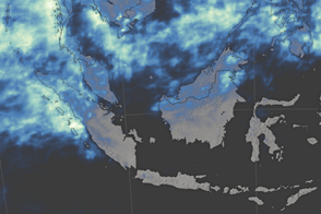 El Niño Brought Drought and Fire to Indonesia
