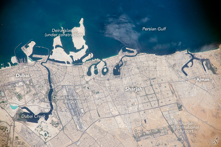 United Arab Emirates, Persian Gulf